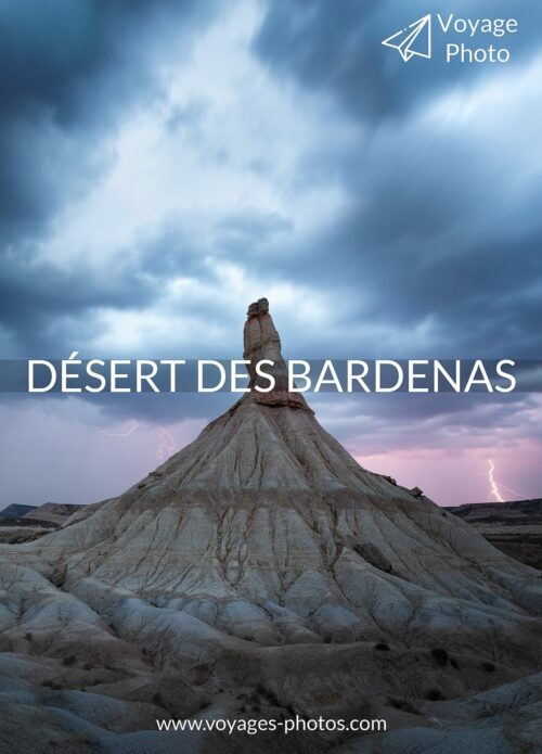 Discover a little-known region of l'Spain, the Bardenas Reales desert in Navarre. Take advantage of this photo workshop to get away from it all and perfect your technique!