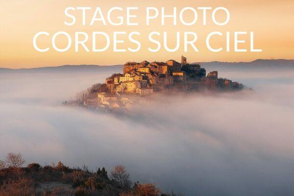 Stage photo Cordes-sur-Ciel