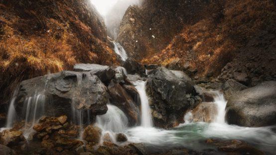 Cascade de Combe froide