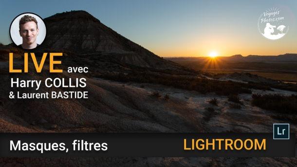 Les masques, les filtres - et HDR Lightroom