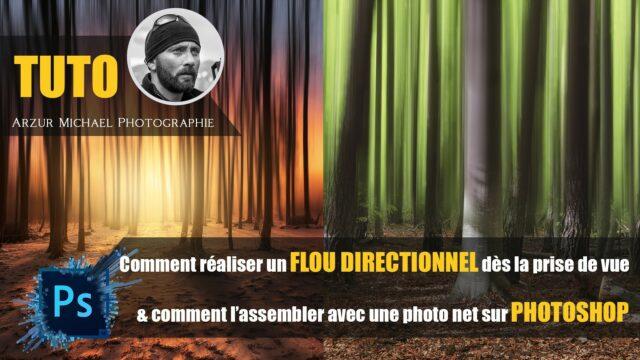 photoshop flou directionnel