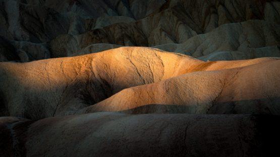 Zabriskie point, vallée de la mort, Californie