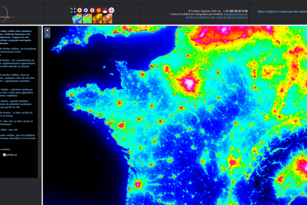 neowise pollution lmuineuse