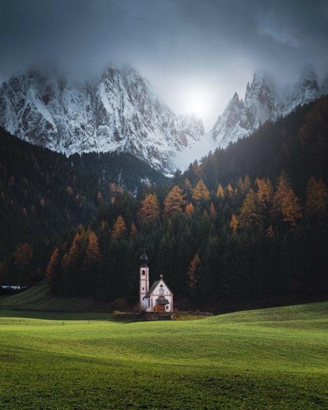 Dolomites Italie stage photo